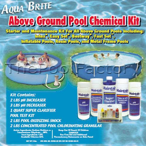 Opening Kit For All Above Ground Pools Starter Maintenance Chemical Kit Ebay