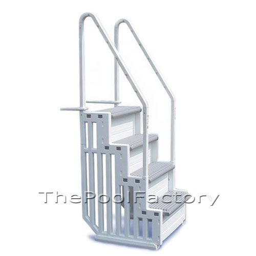 Confer Step 1 Heavy Duty Aboveground Swimming Pool Steps