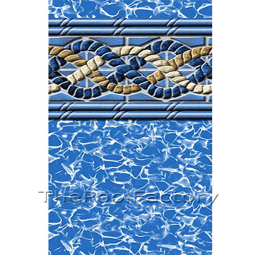 54 Quot Uni Bead Above Ground Swimming Pool Liners 25 Gauge