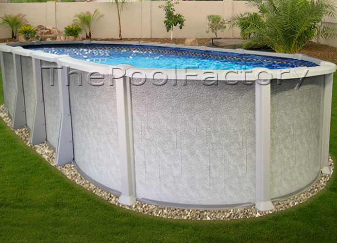 15x26x54 Saltwater 8000 Above Ground Salt Swimming Pool Kit 60 Year Warranty Ebay