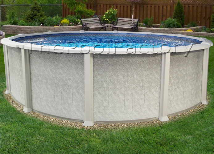 24x54 Saltwater 8000 Above Ground Salt Swimming Pool Kit 60 Year Warranty Ebay