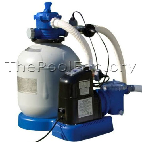 Intex 2650 Sand Filter Amp Saltwater Generator Swimming Pool