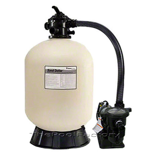 Pentair sd40 above ground swimming pool sand filter system for Pond sand filter system